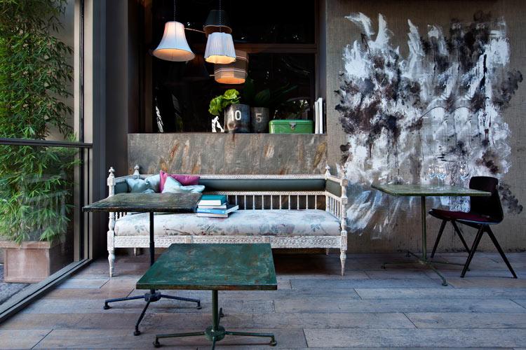 Caruso cafe Milan - Dimore studio
