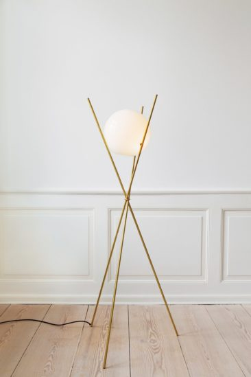Lampadaire The attenuated Tree in the Moonlight, design Anastassiades, 2010