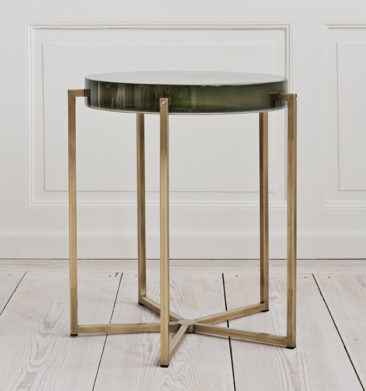 Bottle Green Side Table, design McCollin Bryan