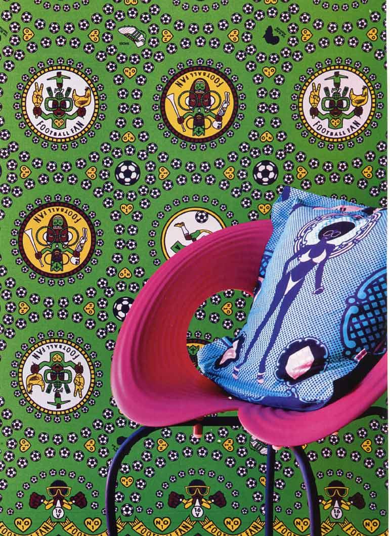 [ Du tissu wax dans ma déco ] La maison de Tracy Rushmere au Cap (Afrique du Sud) - Shine Shine textil