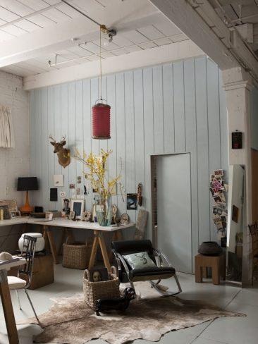 """Le loft new-yorkais de Martin Bourne et Leilin Lopez """"vintage romanticisim"""""""