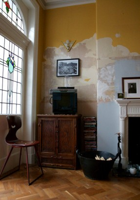 Claire Bingham house - Papier-peint arraché