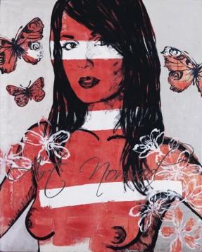 David Bromley - Anna graffiti