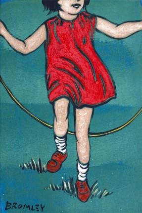 David-Bromley - Skipping Girl