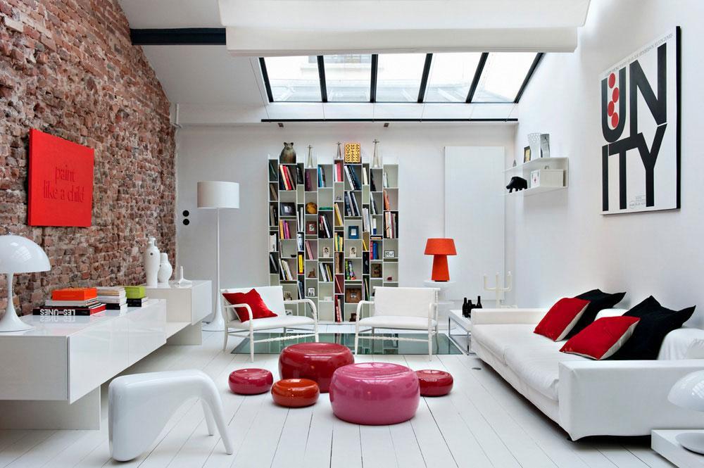 Loft quartier Bastille par Manuel Bonnemazou et Agnès Cambus - agence elementS