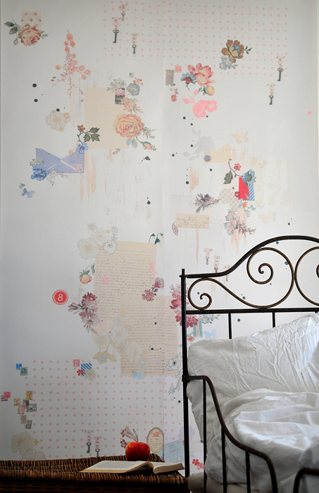 Catherine Hammerton - Collection wall mural lifestyle
