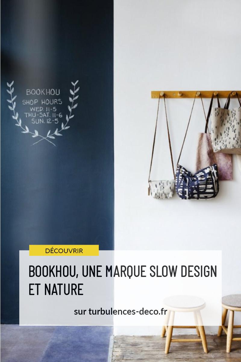 Bookhou, une marque slow design et nature à découvrir sur Turbulences Déco