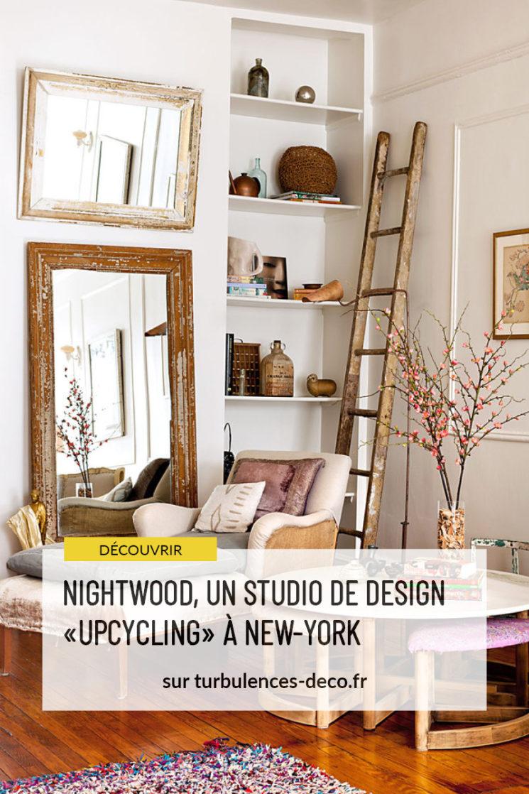 Nightwood, un studio de design 'upcycling' à New-York à retrouver sur Turbulences Déco