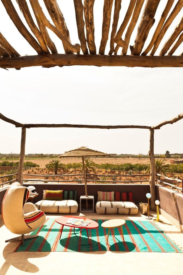 Décor du Maroc à l'hôtel Fellah - Marrakech9
