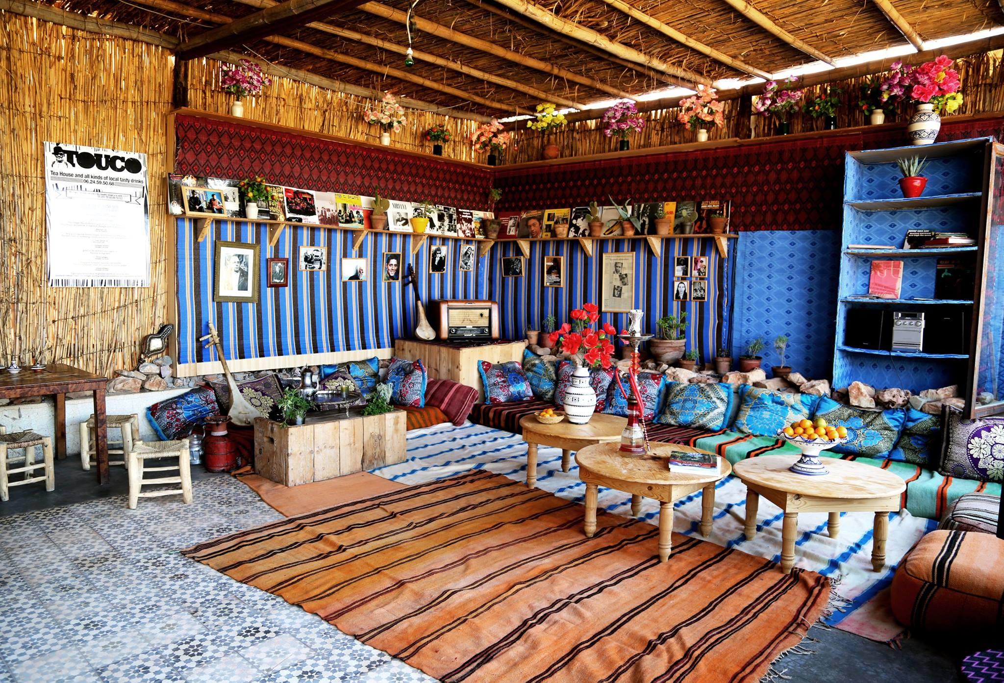 Décor du Maroc à l'hôtel Fellah - Marrakech