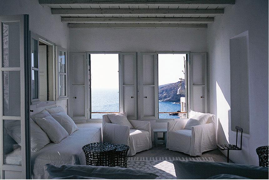 La maison de Paola Navone à Serifos