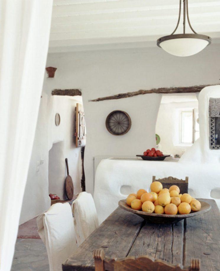 Décor des îles grecques ] Villa Drakothea à Mykonos