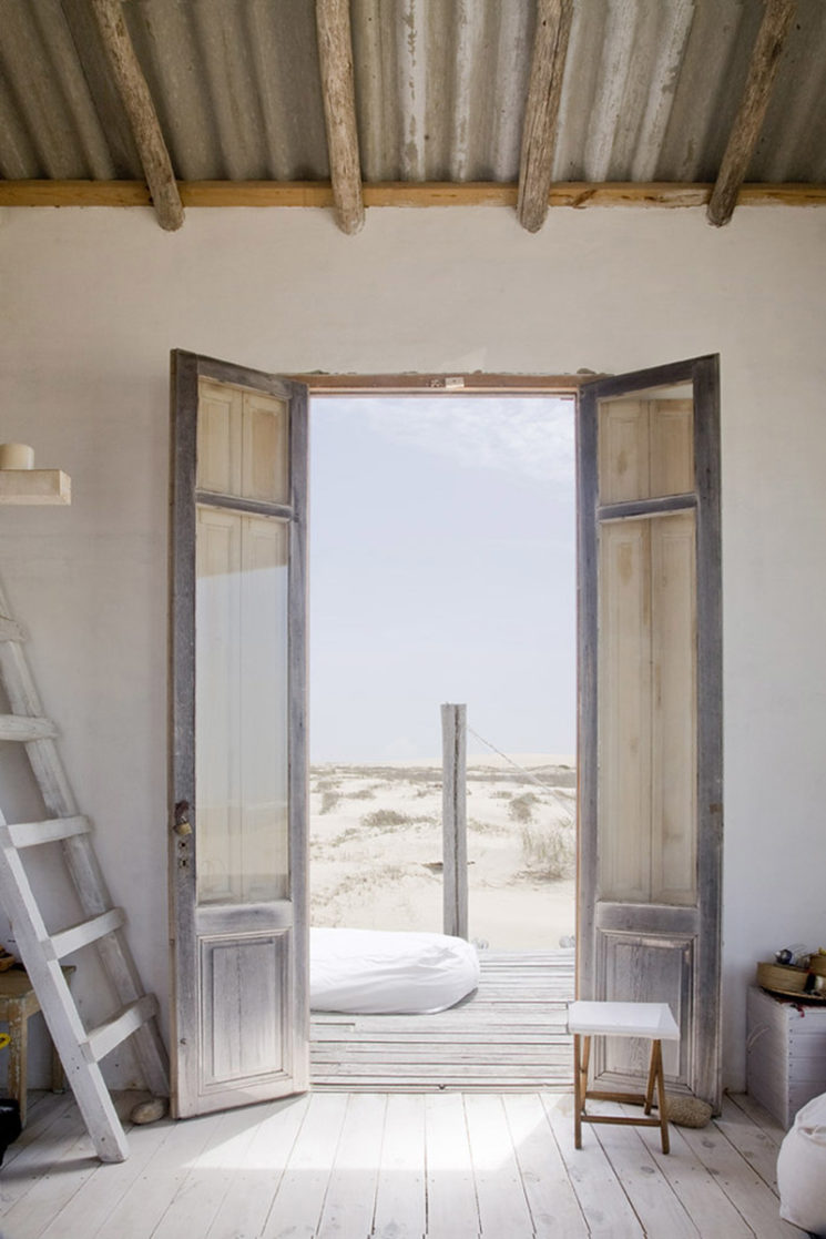 Cabane du bout du monde, cabane à vivre en Uruguay à Cabo Polonio