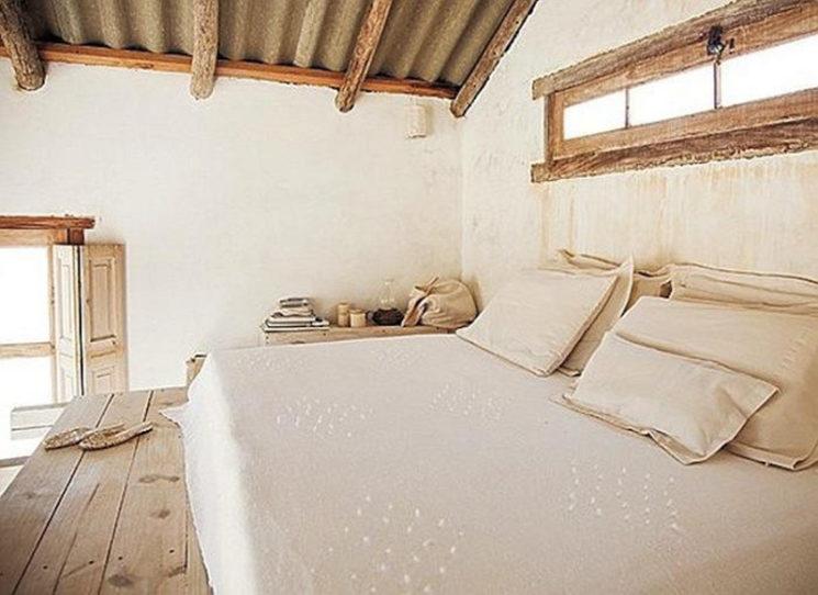 Cabane du bout du monde, cabane à vivre en Uruguay à Cabo Polonio //Lit en mezzanine