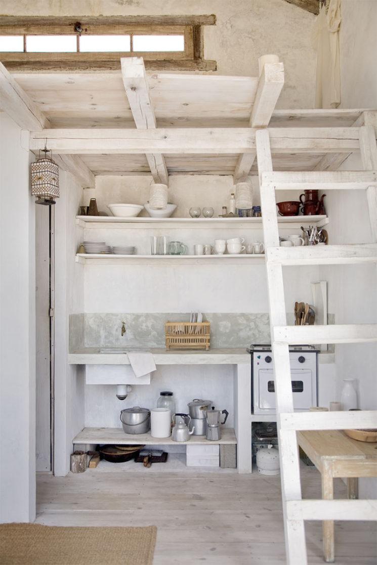 Cabane du bout du monde, cabane à vivre en Uruguay à Cabo Polonio // Comme une tiny house, les besoins sont réduits au minimum