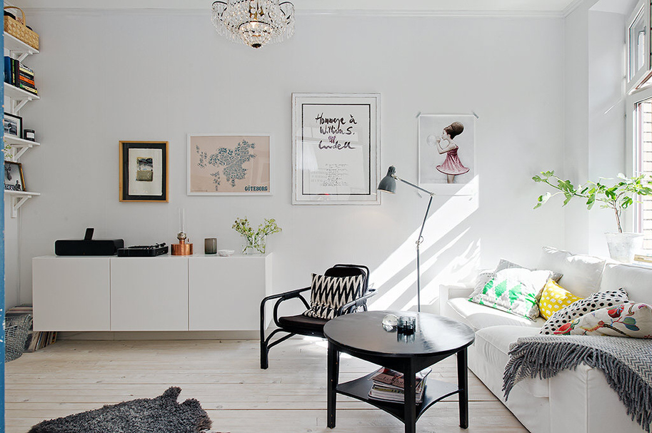 Chez la styliste et blogueuse Tant Johanna à Göteborg