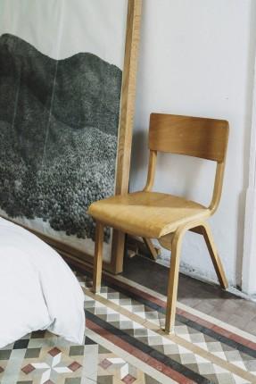 Salva Lopez - Open house Barcelone    Sol en carreaux de ciment