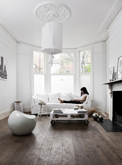 La maison de Karine Kong à Londres - Bodie and fou