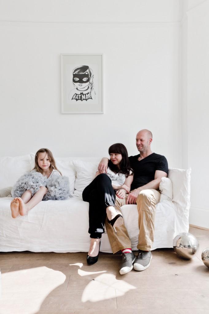 Karine Kong et family
