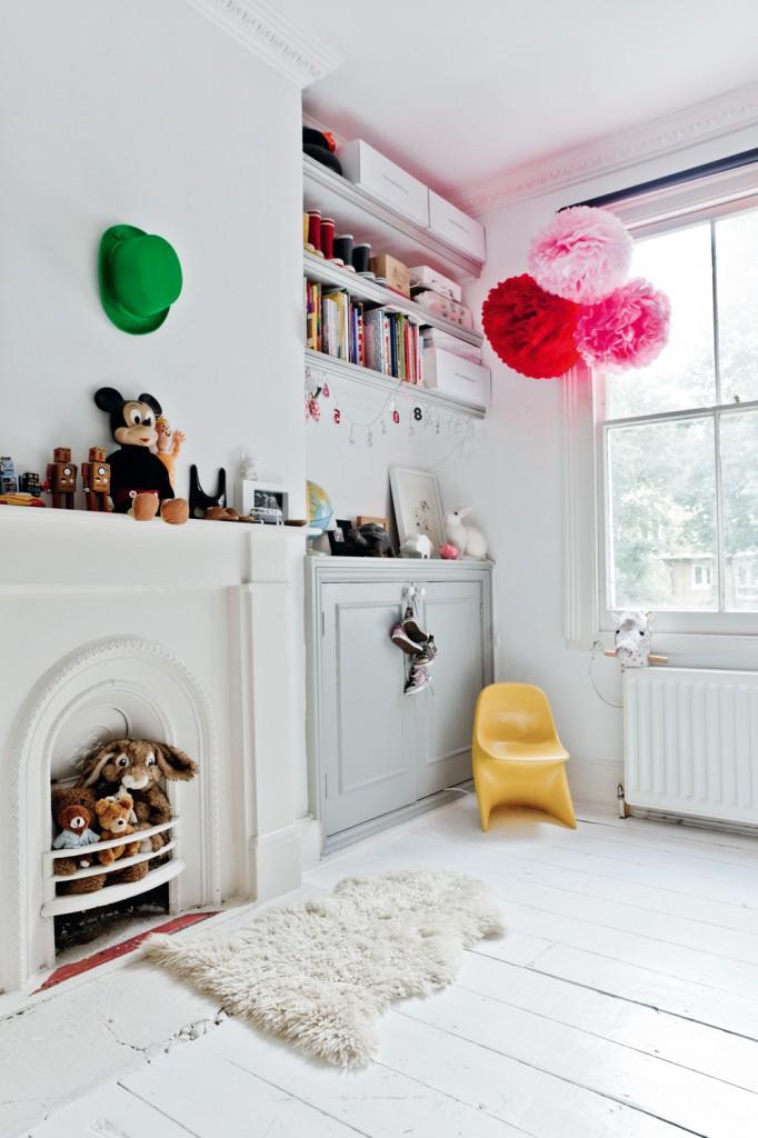 La maison de Karine Kong à Londres - Bodie and fou || Chambre de Mila
