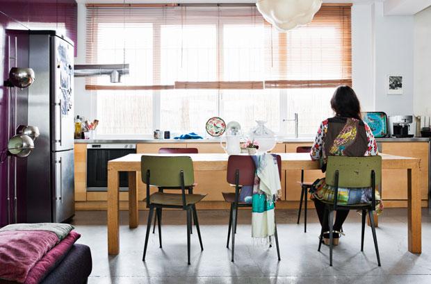 L'intérieur de la créatrice Nathalie Lété