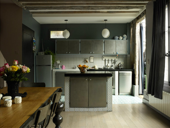 Aurelie Mathigot intérieur - Paris || #carreaux de ciment