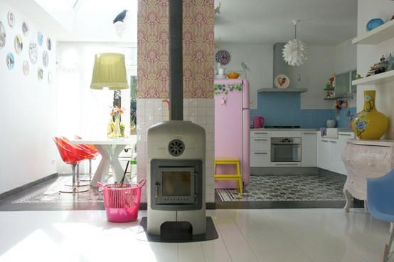 Famille Zilverblauw || #carreaux de ciment
