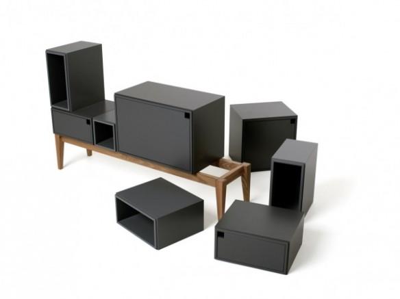 tendance express : meubles design à modules - Meuble Design Metal