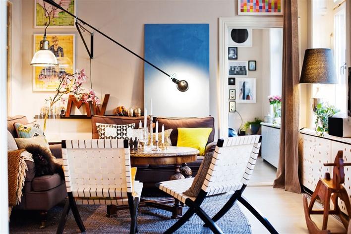 Int rieur clectique entre design scandinave et objets for Objet deco appartement