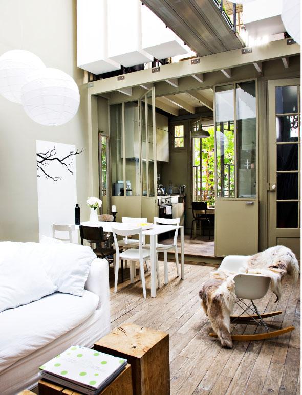Un mini loft paris - Deco kleine studio ...