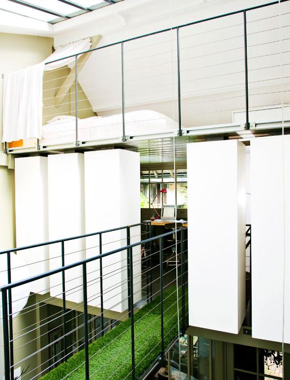 Christele Ageorges intérieur, aménagé par François Muracciole