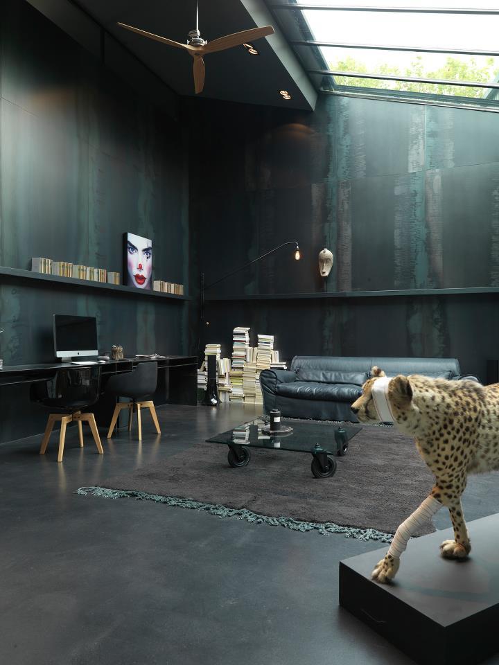 10 idées reçues ou pas sur la couleur noir en déco - L'intérieur de Laurence Simoncini - Région parisienne