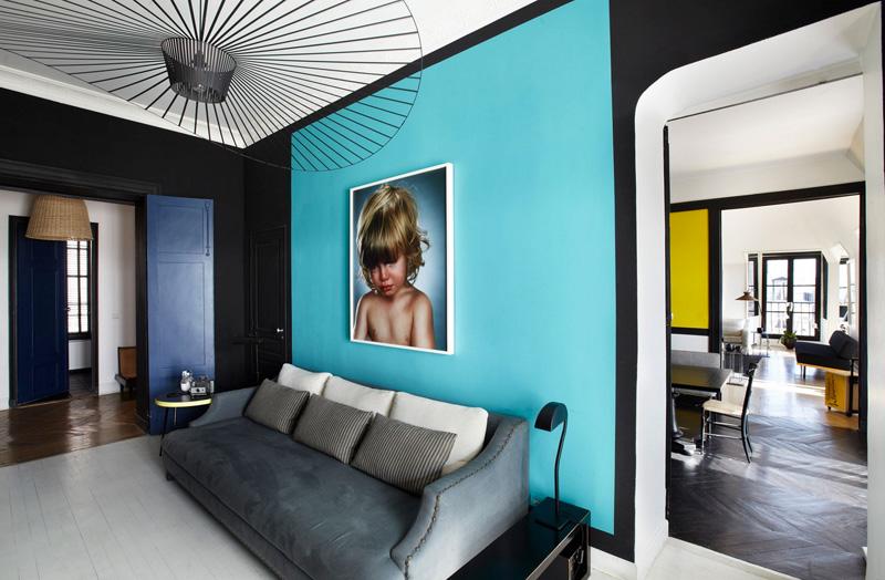 10 idées reçues ou pas sur la couleur noir en déco - L'appartement de Sarah Lavoine