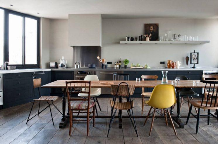 Un loft bohème à Paris par Antonio Virga architecte - Appartement Charlot