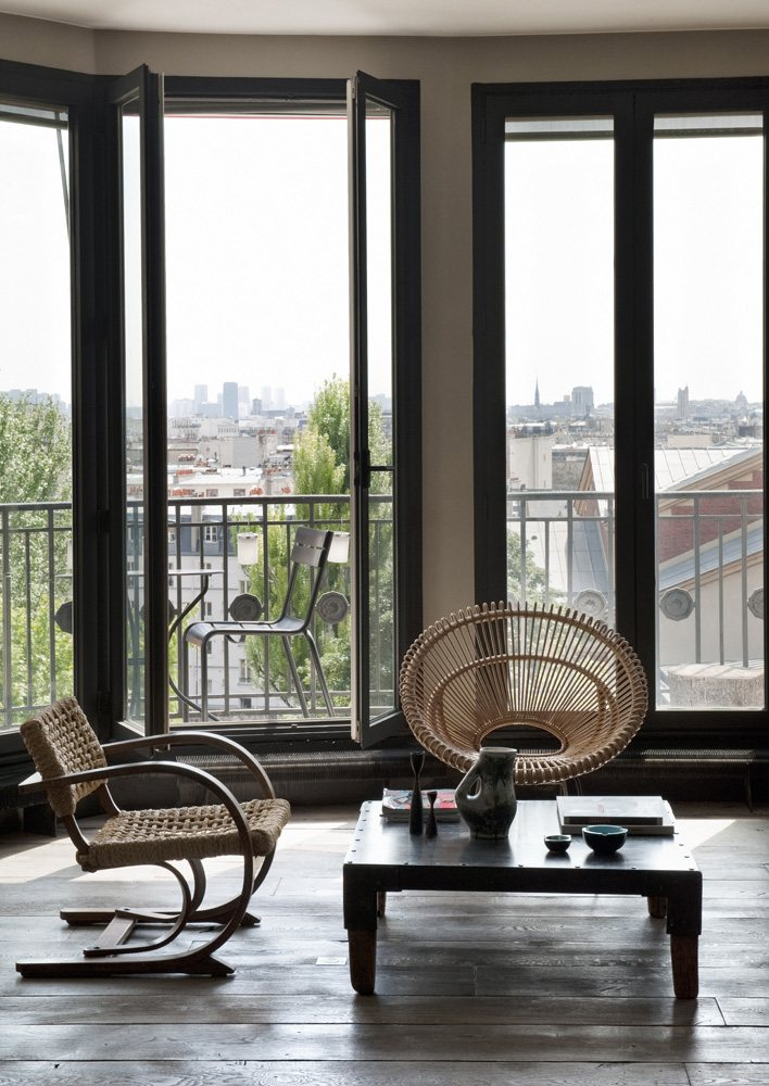 Un loft bohème à Paris par Antonio Virga architecte - Appartement Charlot