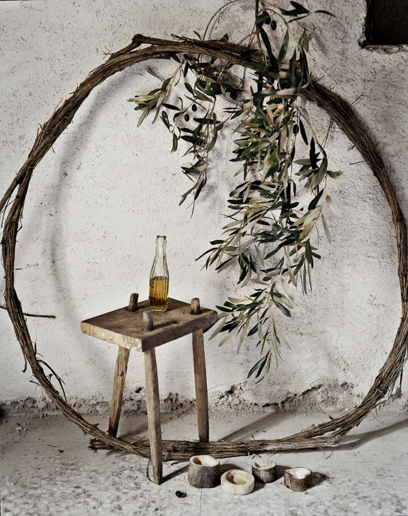 Andrea Brugi, artisan menuisier dans son atelier