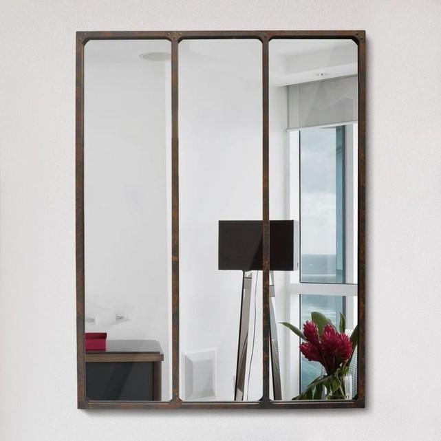 decoration miroir kubu