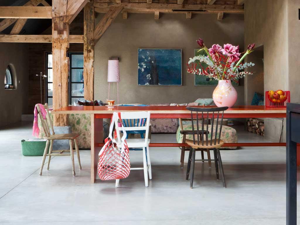 une ferme r nov e par le studio viva veda. Black Bedroom Furniture Sets. Home Design Ideas