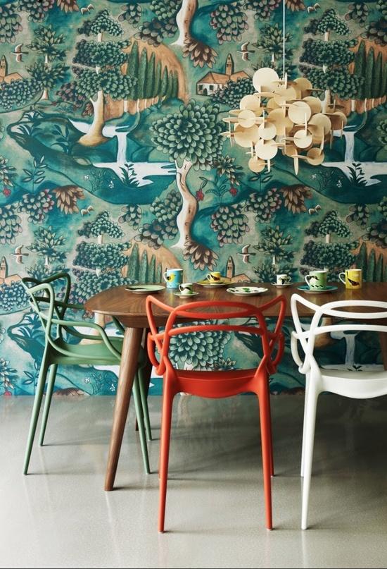 Zoffany Verdure wallpaper // design Melissa White