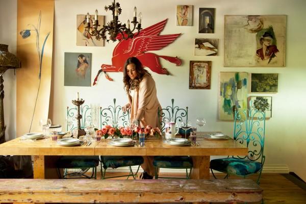 Esprit boh me romantique chez anna corinna brooklyn - Deco boheme vintage ...