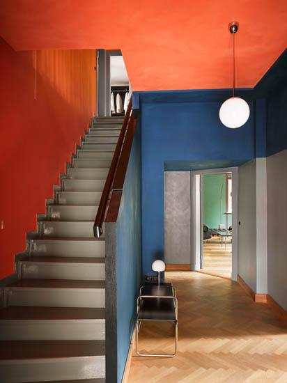 Sélection de peintures murales géométriques // Richard Neutra architecture