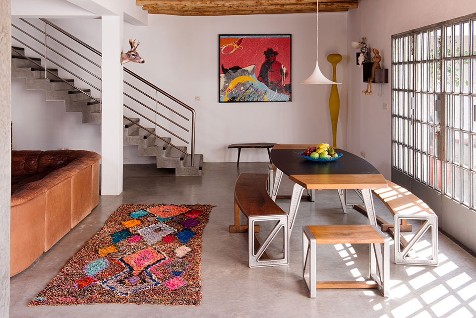 Emma Wilson interior Morroco || Galerie images Beldi rugs