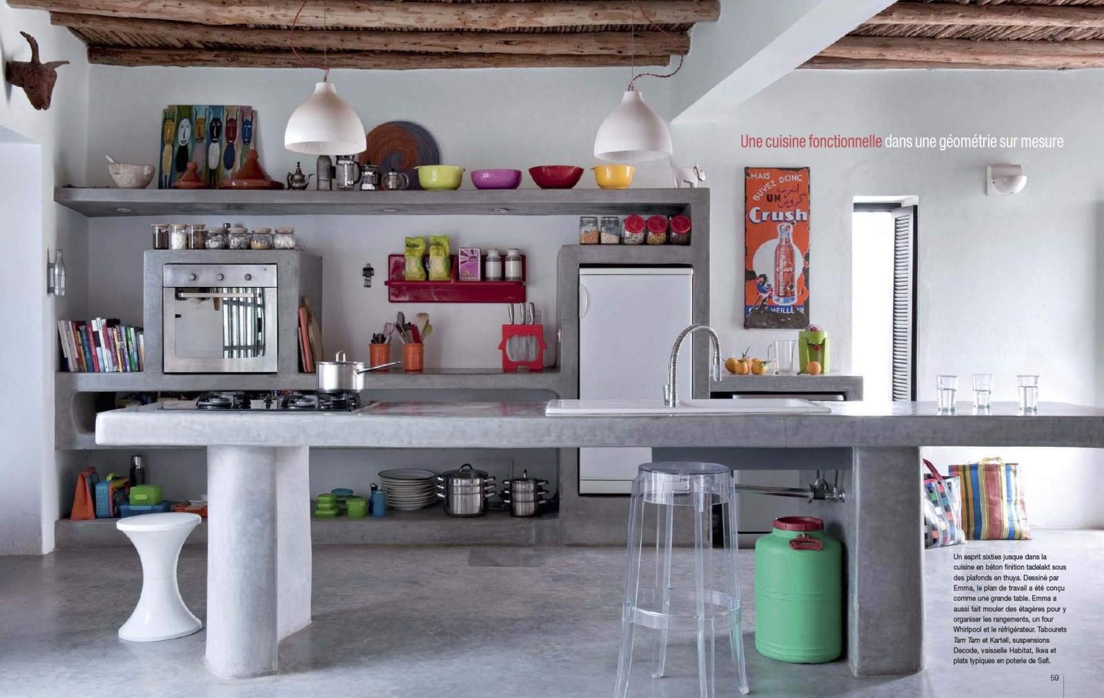 Quelle Cuisine Avec Sol Noir : La déco marocaine selon Emma Wilson