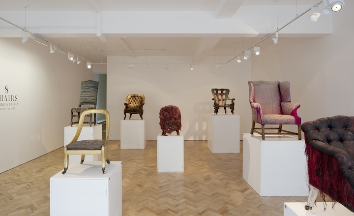 Galerie Libby Sellers | Clarke and Reilly 8 chairs installation