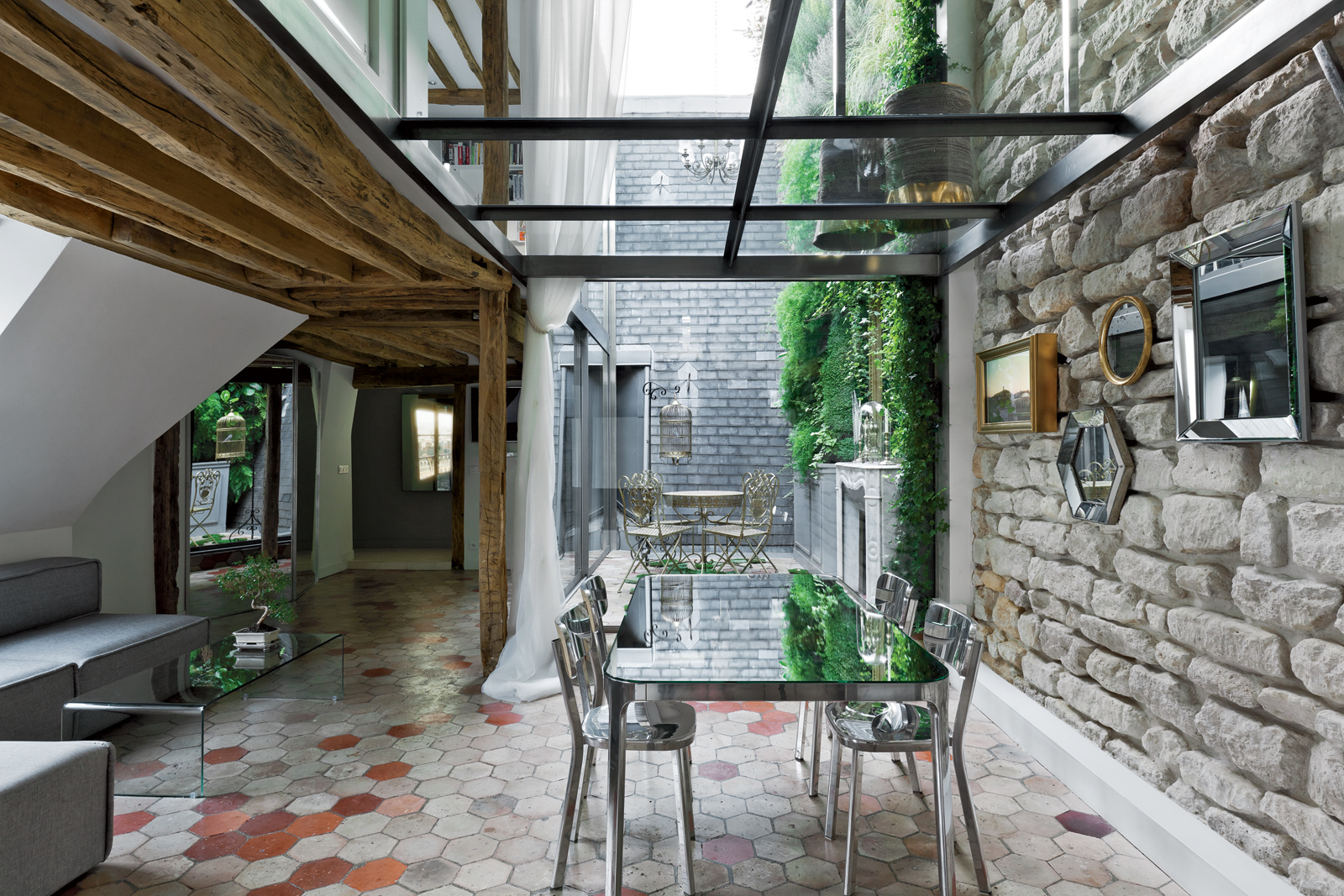 Michael Herrman home Paris