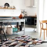Carpet of life, recycler vos vêtements en tapis boucherouites