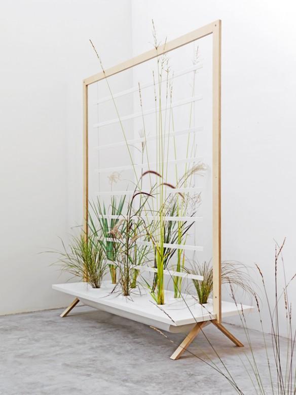 Des plantes d 39 int rieur autrement - Jardiniere interieur design ...