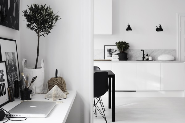 Therese Sennerholt apartment - Stockholm