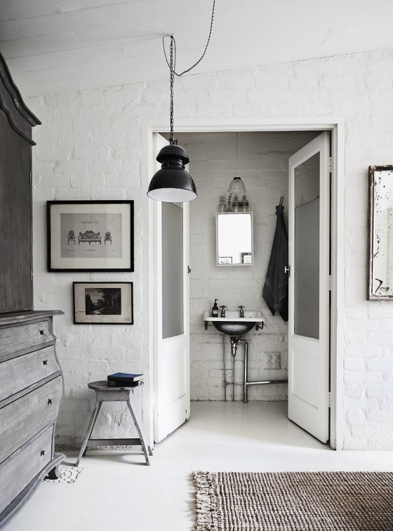 Le style très shabby chic de Lynda Gardener    The White room - Maison d'hôtes à Fritzoy, Melbourne