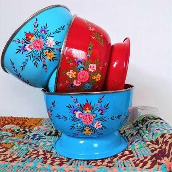 Bol indien peint - My Lovely India sur Etsy
